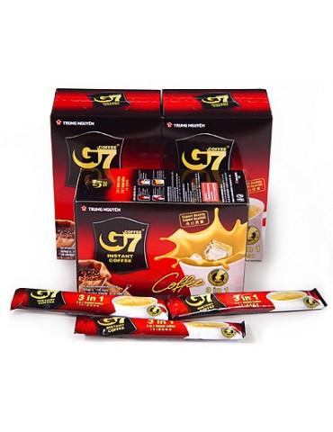Café en stick G7 lait Trung Nguyen