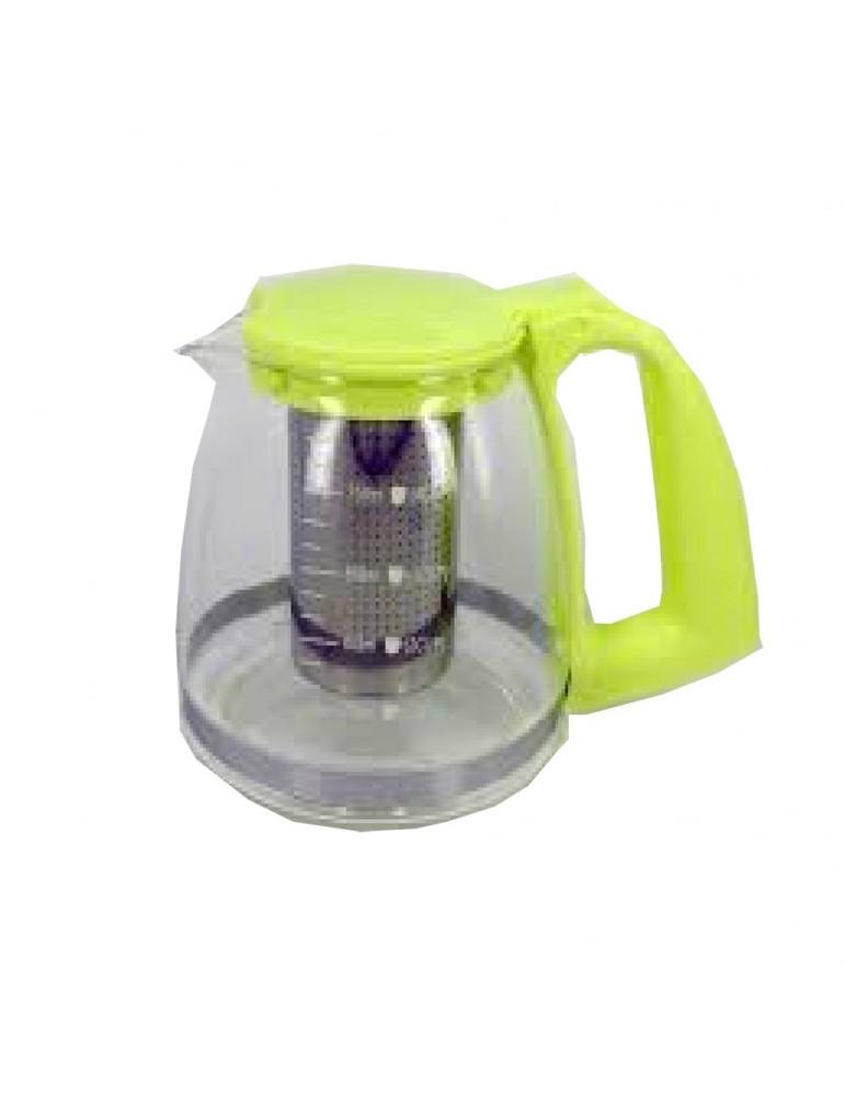 Théière en verre avec filtre