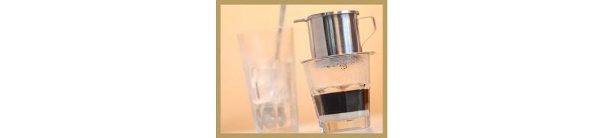 filtre  café vietnamien filtre et boule pour the